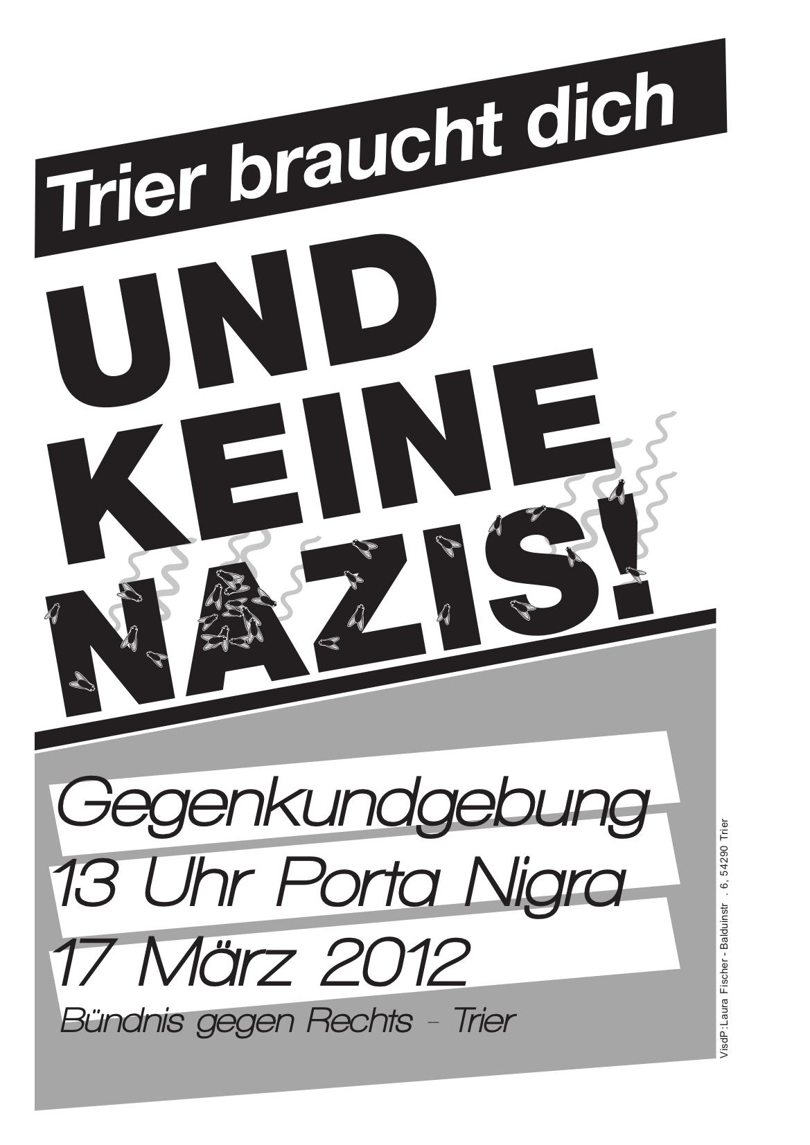2012-03-17 Naziaufmarsch in Trier verhindern